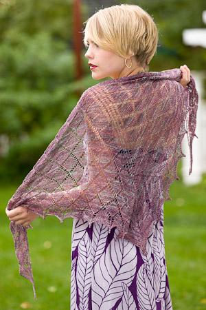 Loon shawl 2